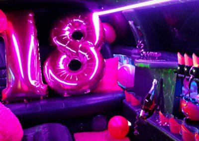 PIMP it PINK – Birthday / Foto: klassische Limousine