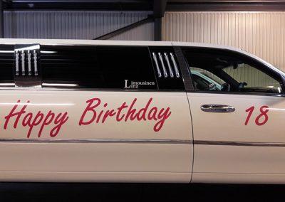 Happy Birthday Aufkleber