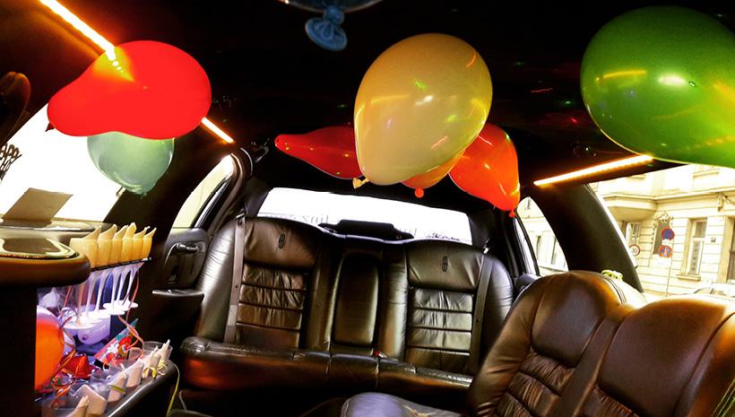 deco klassische limousine