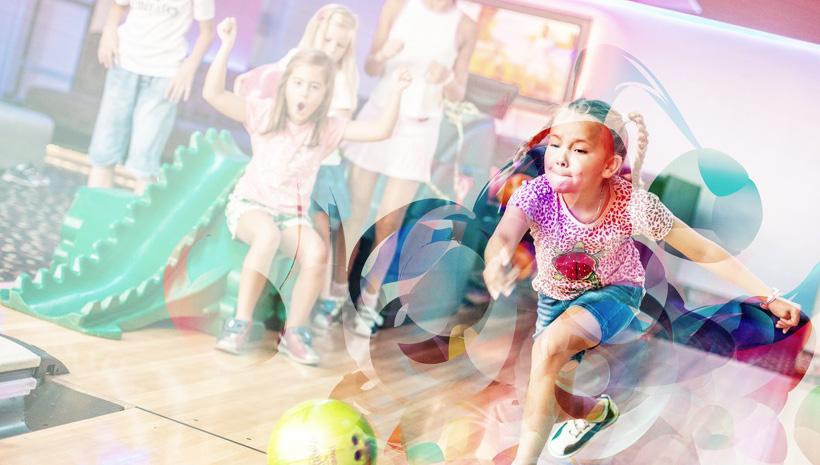 kids bowling party